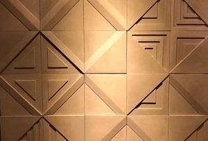 3D Beton Duvar Kaplama Modeli