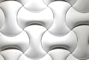 3D Beton Duvar Kaplama Sedir Modeli
