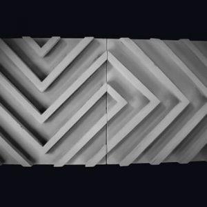 3D Beton Labirent Modeli