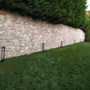 Bahçe Duvar Dekoratif Kültür Taşı Kaplama Uygulamaları
