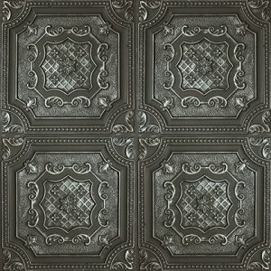 Alhambra Karo Panel – Argent Noir