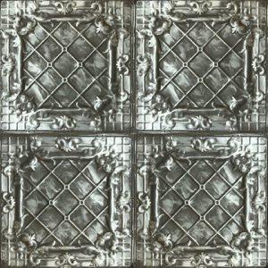 Casablanca Karo Panel – Argent Noir