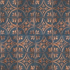 Custom Tavan Paneli – Bluish Copper