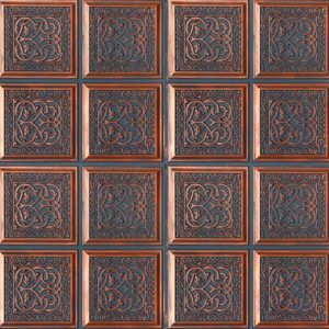 Hurricane Karo Panel – Bluish Copper