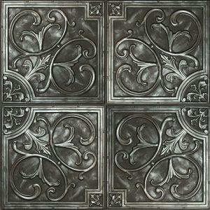 Mayon Karo Panel – Argent Noir