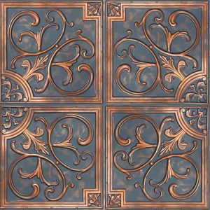 Mayon Karo Panel – Bluish Copper