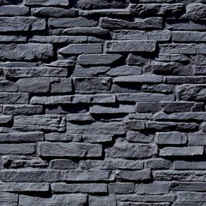 Piedra Taş Panel – Negra