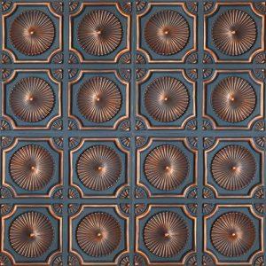 Quarter Tavan Paneli – Bluish Copper