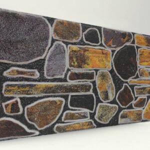Örme Doğal Taş Desenli Strafor Duvar Paneli
