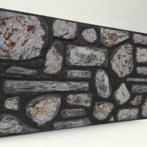 Sıvalı Doğal Taş Desenli Strafor Duvar Paneli