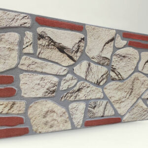 Sade 120'lik Kayrak Taşı Desenli Strafor Duvar Paneli
