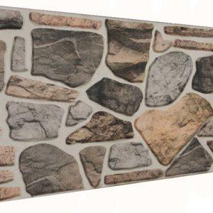 Akide 120'lik Kayrak Taşı Desenli Strafor Duvar Paneli