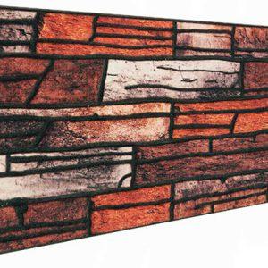 Alev Kırma Taş Desenli Strafor Duvar Paneli
