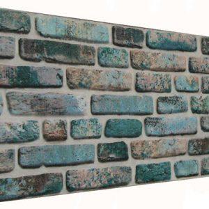 Bodrum 120'lik Tuğla Desenli Strafor Duvar Paneli