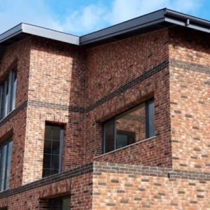 Natural Brick Application on Exteriors