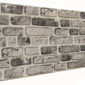 Eskitme 120'lik Tuğla Desenli Strafor Duvar Paneli