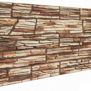 İnce Kırma Taş Desenli Strafor Duvar Paneli
