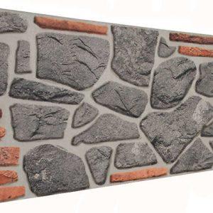 İstanbul 120'lik Kayrak Taşı Desenli Strafor Duvar Paneli