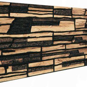Kabuk Kırma Taş Desenli Strafor Duvar Paneli