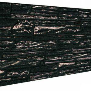 Kömür Kırma Taş Desenli Strafor Duvar Paneli