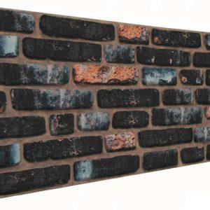 Koyu 120'lik Tuğla Desenli Strafor Duvar Paneli