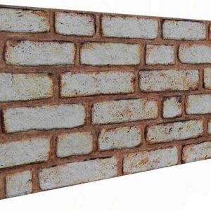 Paslı Tuğla Desenli Strafor Duvar Paneli