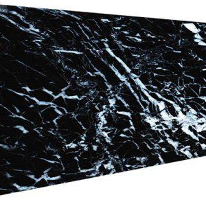 Siyah Mermer Desenli Strafor Duvar Paneli