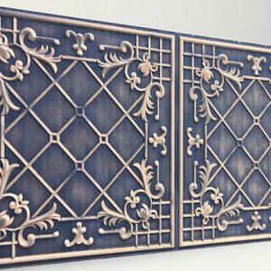 Sümbül Blue Casablanca Karo Strafor Panel