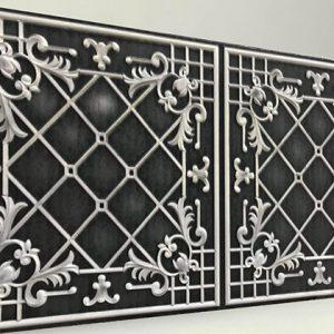 Sümbül Dark Casablanca Karo Strafor Panel