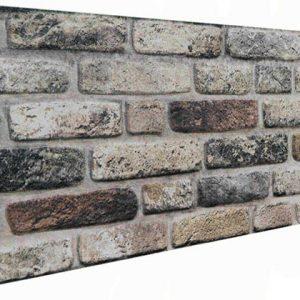 Topkapı Tuğla Desenli Strafor Duvar Paneli