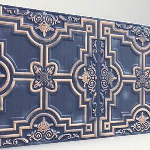 Zaferan Blue Luna Karo Strafor Panel