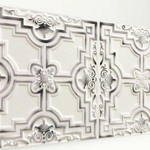 Zaferan White Luna Karo Strafor Panel