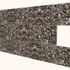 Çakıl Taşı İnce Mermer Desenli Strafor Duvar Paneli