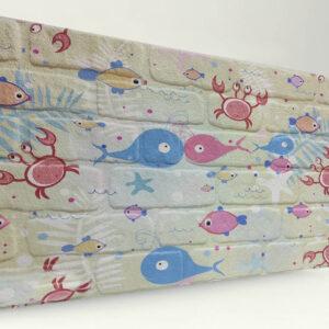 Balık Tuğla Desenli Strafor Duvar Paneli