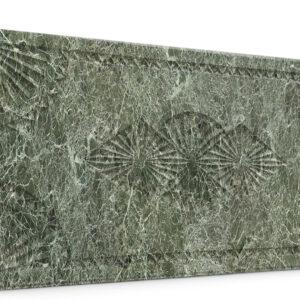 Dolunay Su Yeşili Oymalı Mermer Panel