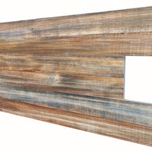 Eski İnce Ahşap Desenli Strafor Duvar Paneli