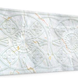 Güneş Bej Oymalı Mermer Panel