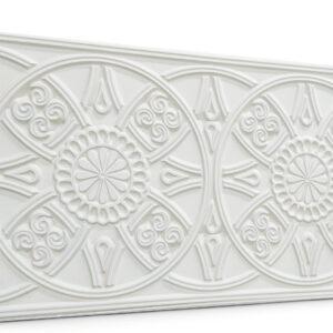 Güneş Sade Beyaz Oymalı Sade Mat Panel