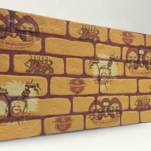 Galatasaray Tuğla Desenli Strafor Duvar Paneli