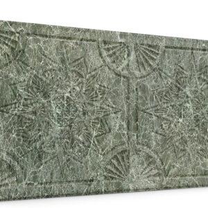 Yıldız Su Yeşili Oymalı Mermer Panel